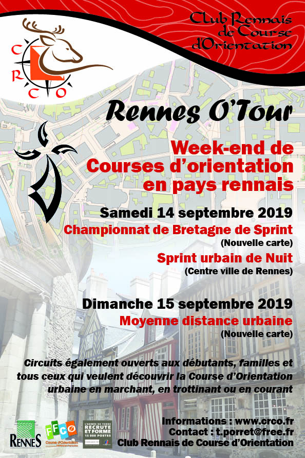 Flyer Rennes O'Tour