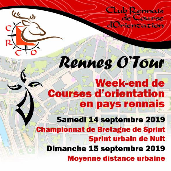 Calendrier Autocross Ouest 2019.Rennes O Tour 2019 Club Rennais De Course D Orientation